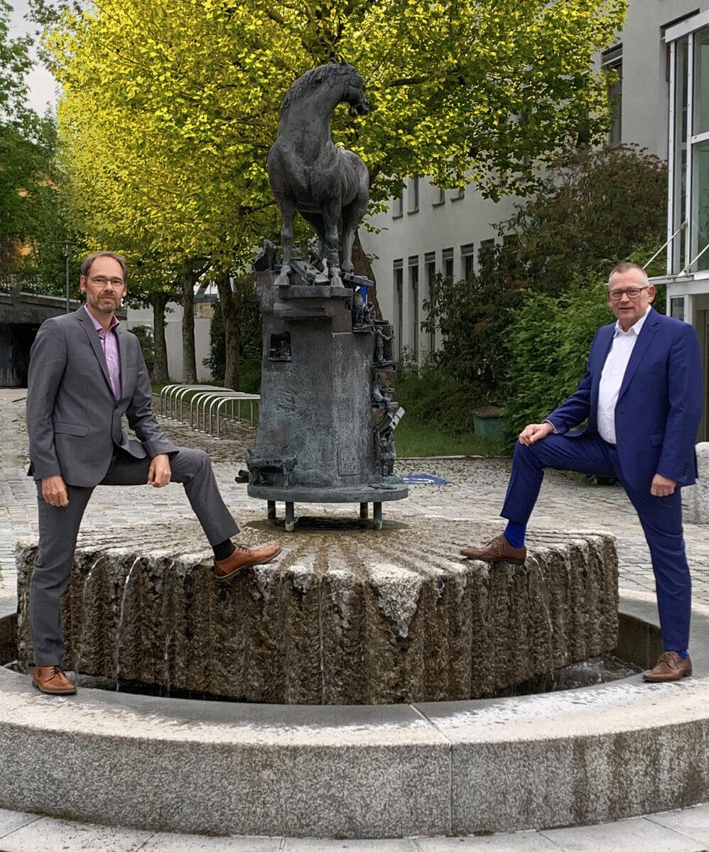 Amtsschimmel mit René Kleiner und Fritz Steininger